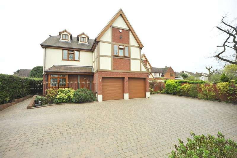 5 Bedrooms Detached House for sale in Tye Common Road, Billericay, Essex, CM12