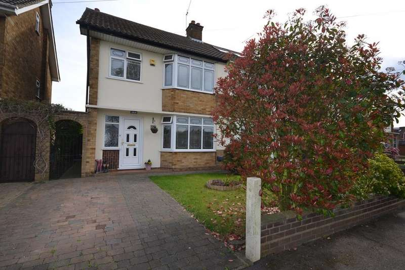 3 Bedrooms Semi Detached House for sale in Lampits Hill, Corringham, Stanford-le-Hope, SS17