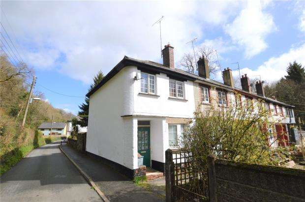 2 Bedrooms End Of Terrace House for sale in Castle Cottages, Castle Lane, Okehampton, Devon