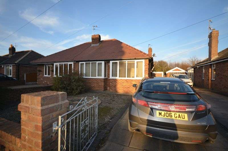 2 Bedrooms Semi Detached Bungalow for sale in 89 Fleetwood Road, Poulton-Le-Fylde, Lancs FY6 7NU