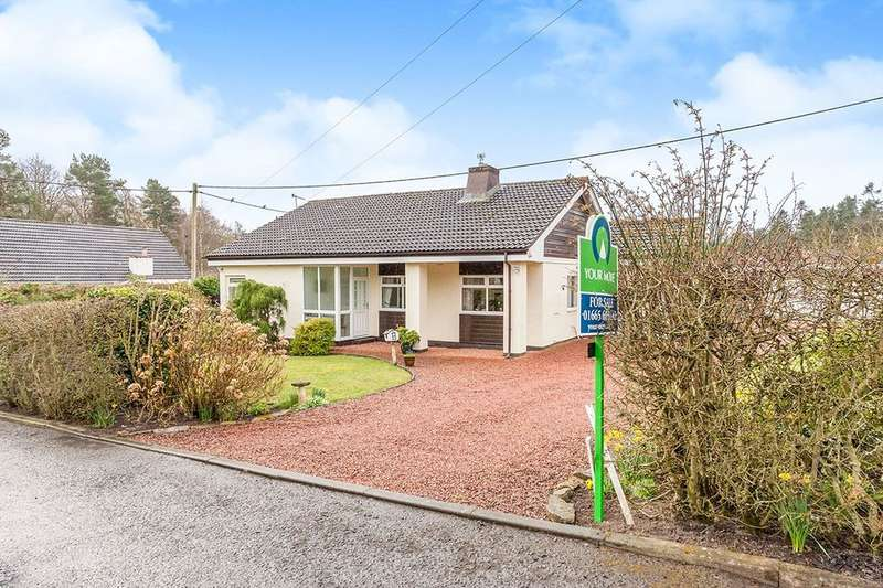 3 Bedrooms Detached Bungalow for sale in Percy Drive, Swarland, Morpeth, NE65