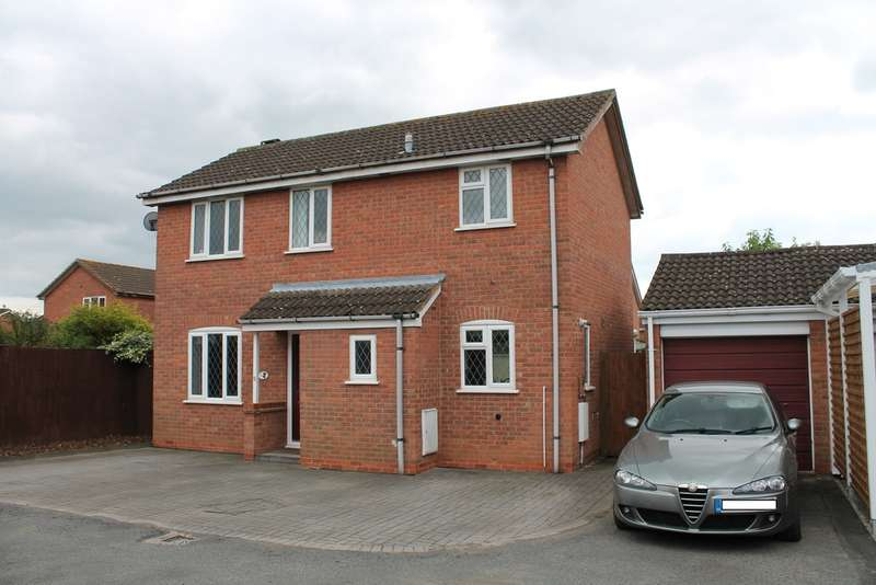 3 Bedrooms Detached House for sale in Marigold Close, Worcester, Worcester, WR5