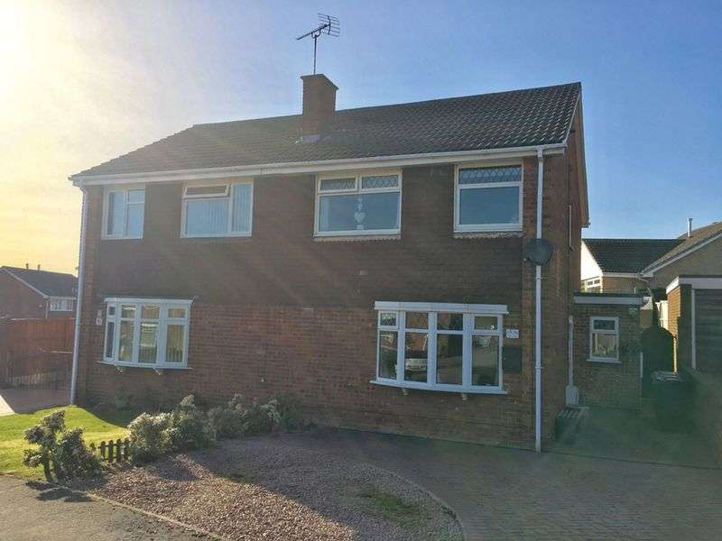 3 Bedrooms Semi Detached House for sale in Audens Way, Midway