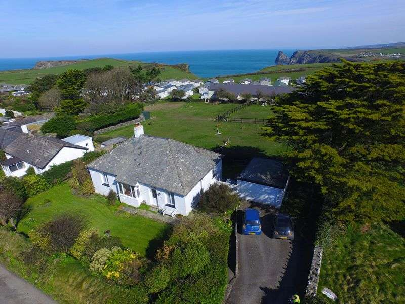 3 Bedrooms Detached Bungalow for sale in Bossiney, Tintagel