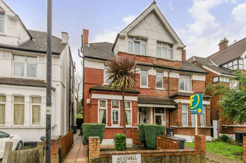2 Bedrooms Maisonette Flat for sale in Westwell Road, Streatham Common, SW16