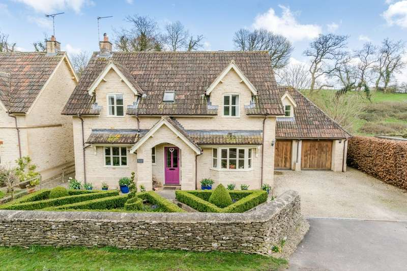 4 Bedrooms Detached House for sale in Brook End, Luckington