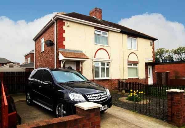 2 Bedrooms Semi Detached House for sale in Finchale Terrace, Newcastle, Tyne And Wear, NE32 3TU