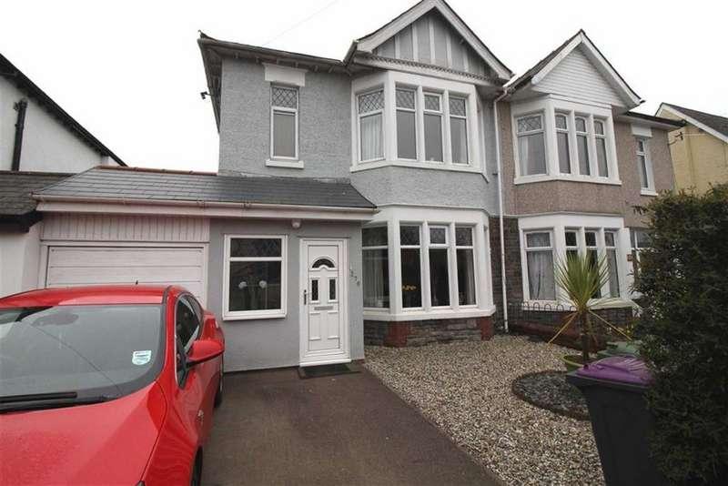 3 Bedrooms Semi Detached House for sale in Llantarnam Road, Cwmbran, Torfaen
