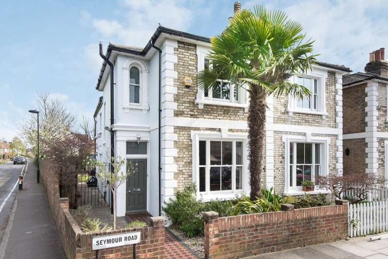 3 Bedrooms Semi-detached Villa House for sale in Seymour Road, Hampton Hill, TW12