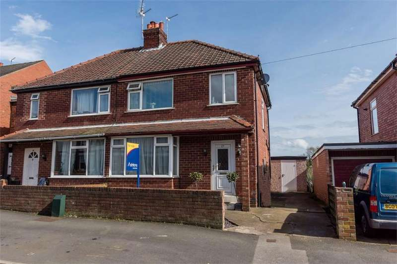 3 Bedrooms Semi Detached House for sale in Beech Avenue, Holgate, YORK