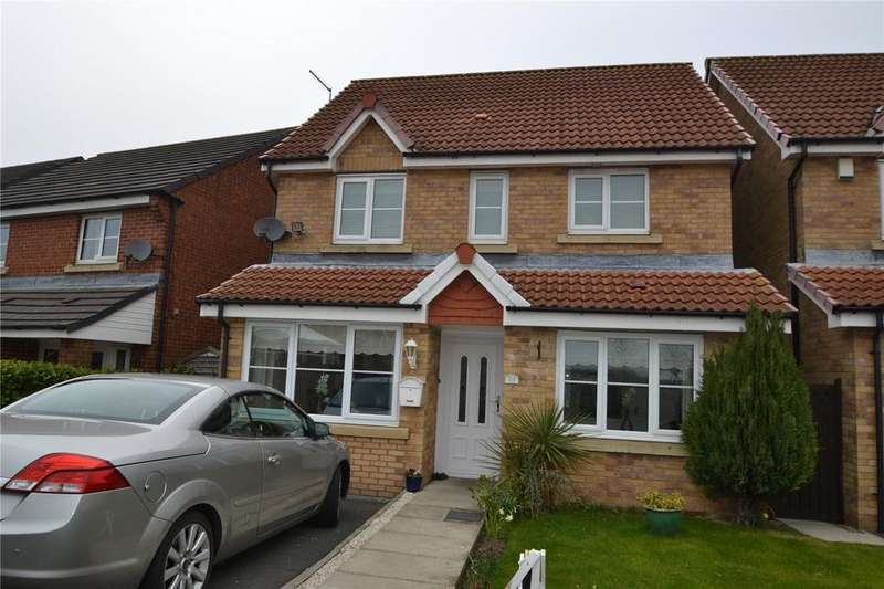 3 Bedrooms Detached House for sale in Kestrel Way, Haswell, Co. Durham, DH6