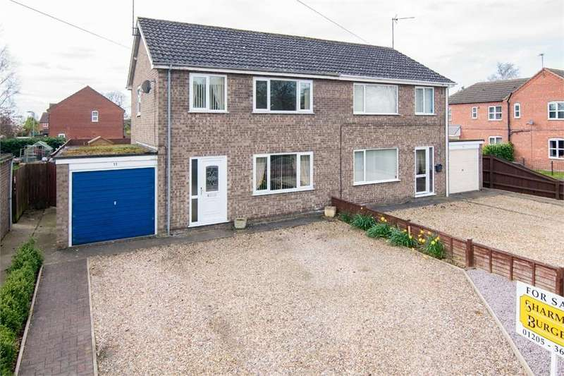 3 Bedrooms Semi Detached House for sale in Princess Road, Kirton, Boston, Lincolnshire