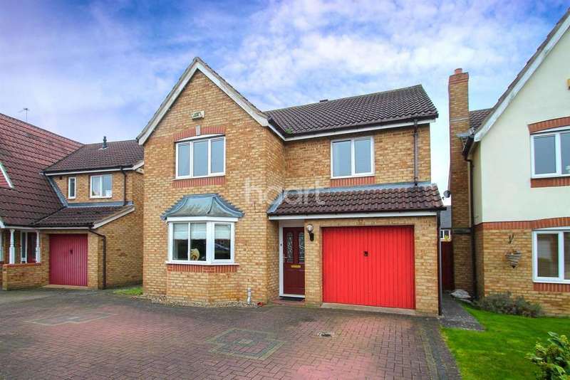 4 Bedrooms Detached House for sale in Battalion Drive, Wootton