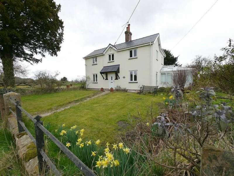 4 Bedrooms Detached House for sale in Grange Cottage, Bulkeley, SY14 8BP