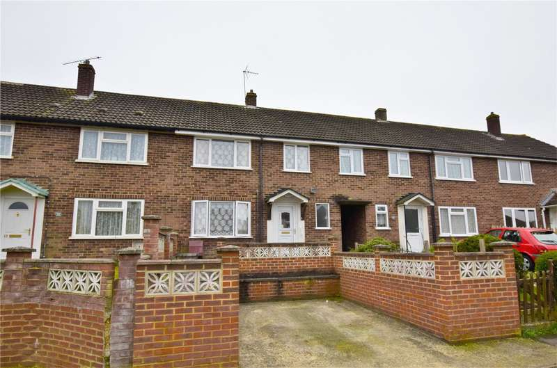 3 Bedrooms Terraced House for sale in Omers Rise, Burghfield Common, RG7