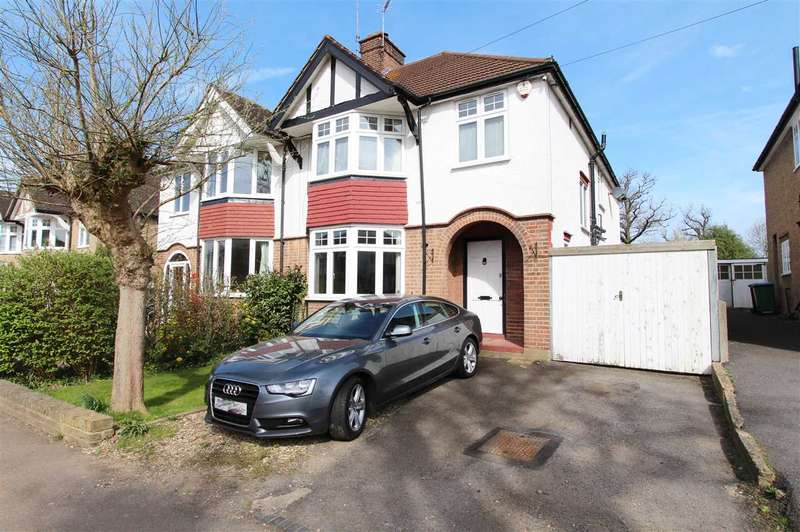 4 Bedrooms Semi Detached House for sale in Cassiobury Park Avenue, Watford