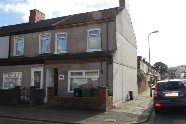 3 Bedrooms End Of Terrace House for sale in Forrest Road, Canton, Cardiff