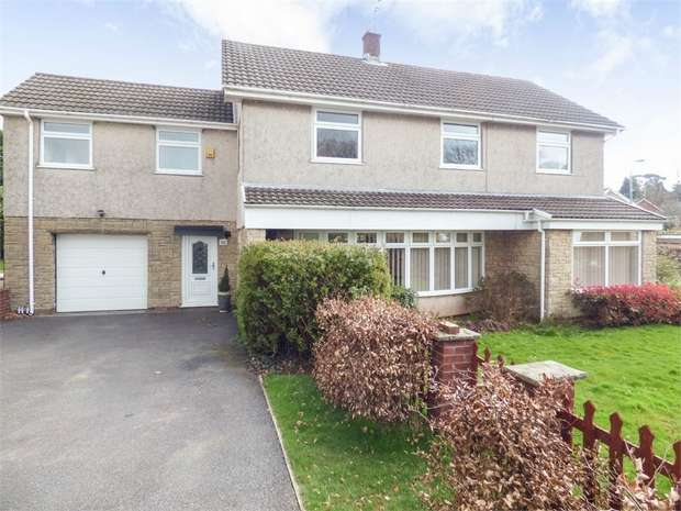 4 Bedrooms Detached House for sale in Heol Cefn Onn, Lisvane, Cardiff, South Glamorgan