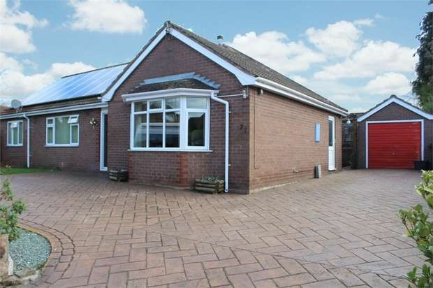 3 Bedrooms Detached Bungalow for sale in Allen Gardens, Market Drayton, Shropshire