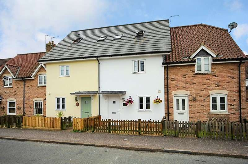 4 Bedrooms Terraced House for sale in Cromwell Road, Weeting, Brandon