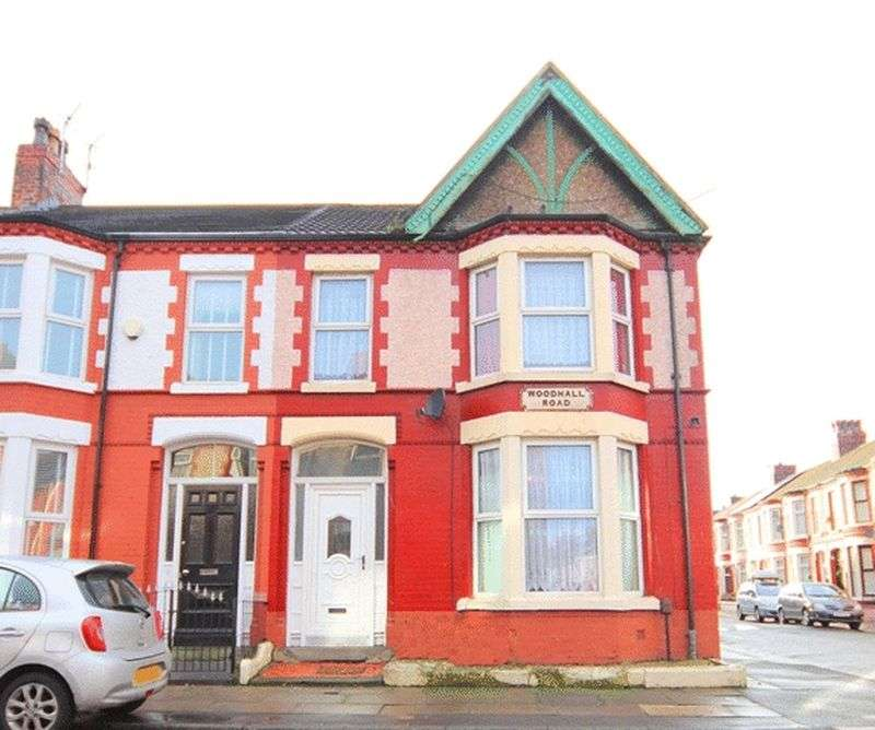 3 Bedrooms Terraced House for sale in Woodhall Road, Old Swan, Liverpool, L13