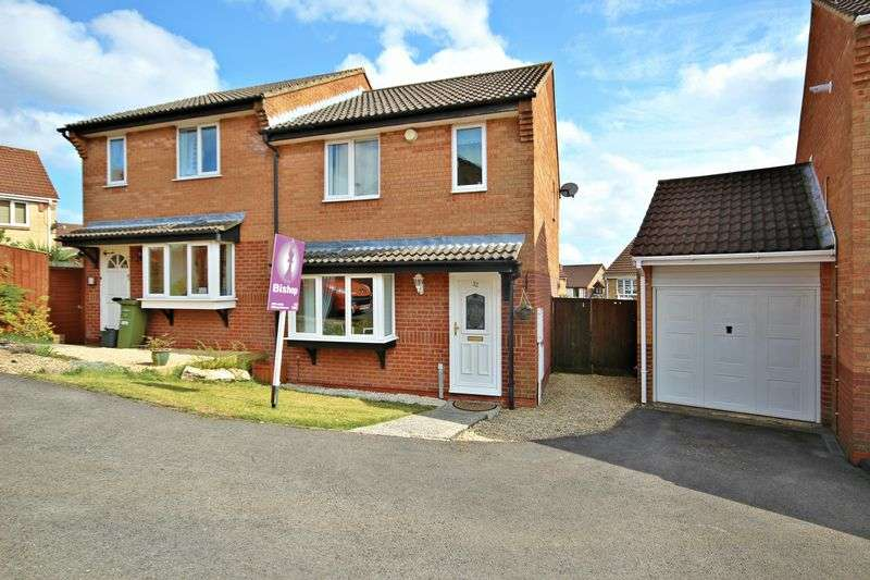 3 Bedrooms Semi Detached House for sale in Pippin Close, Peasedown St John