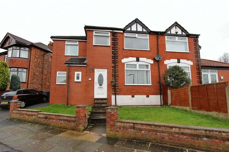 4 Bedrooms Semi Detached House for sale in Downham Crescent, Prestwich, Manchester