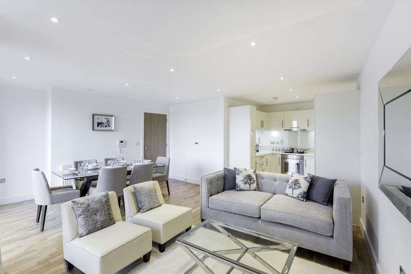 2 Bedrooms Flat for sale in Exclusive opportunity to buy a wonderful two bed apartment in The Arc