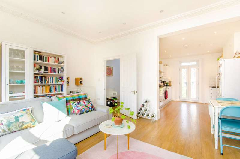 2 Bedrooms Maisonette Flat for sale in St Pauls Road, Islington, N1