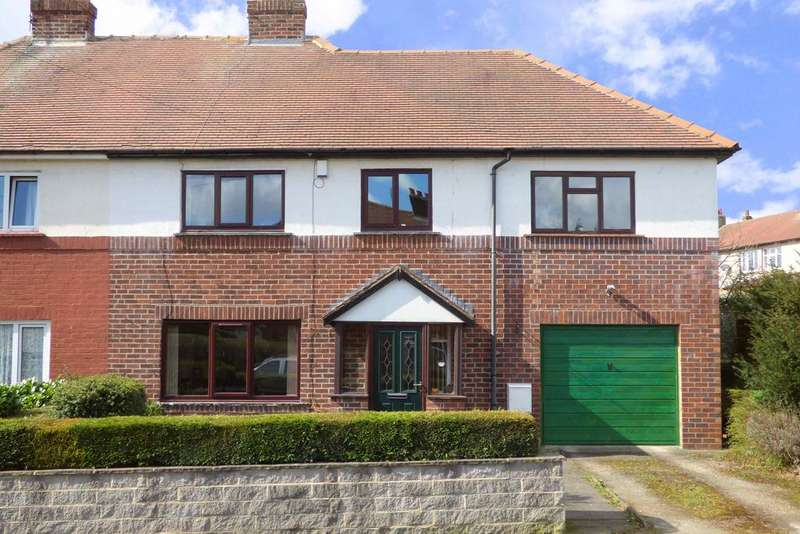4 Bedrooms Semi Detached House for sale in Greenfield Avenue, Lightcliffe HX3