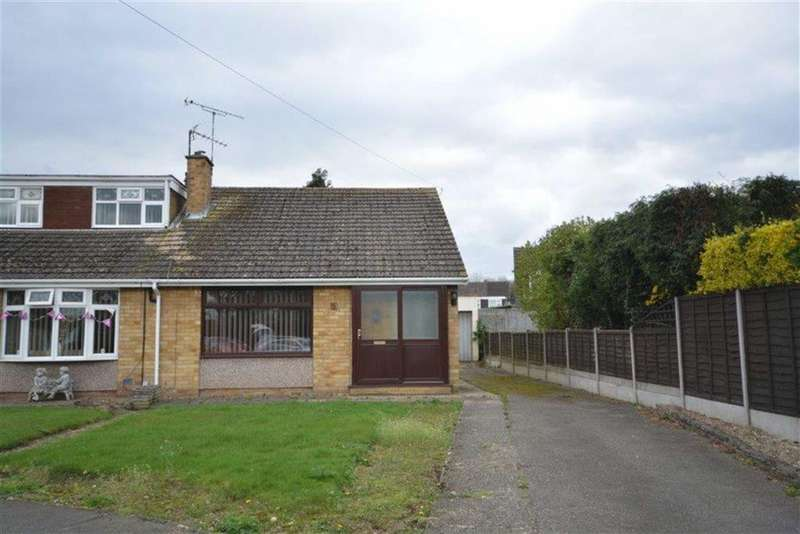2 Bedrooms Semi Detached Bungalow for sale in Sharratt Road, Bedworth