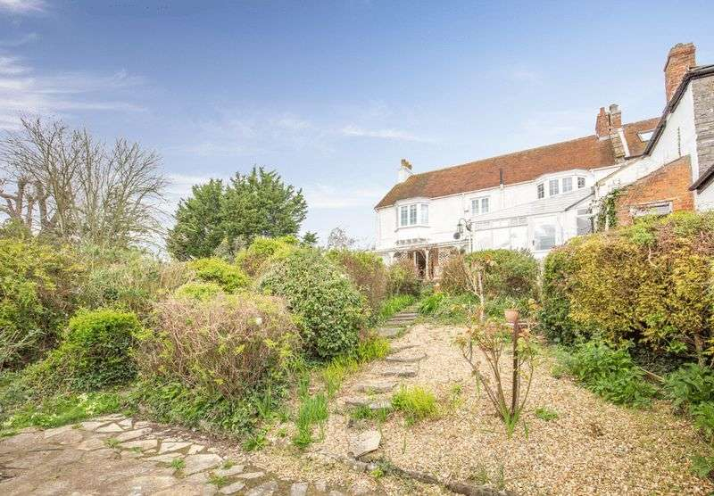4 Bedrooms Semi Detached House for sale in STUNNING VIEWS. Attractive period house with what must be one of the best views in Somerset!