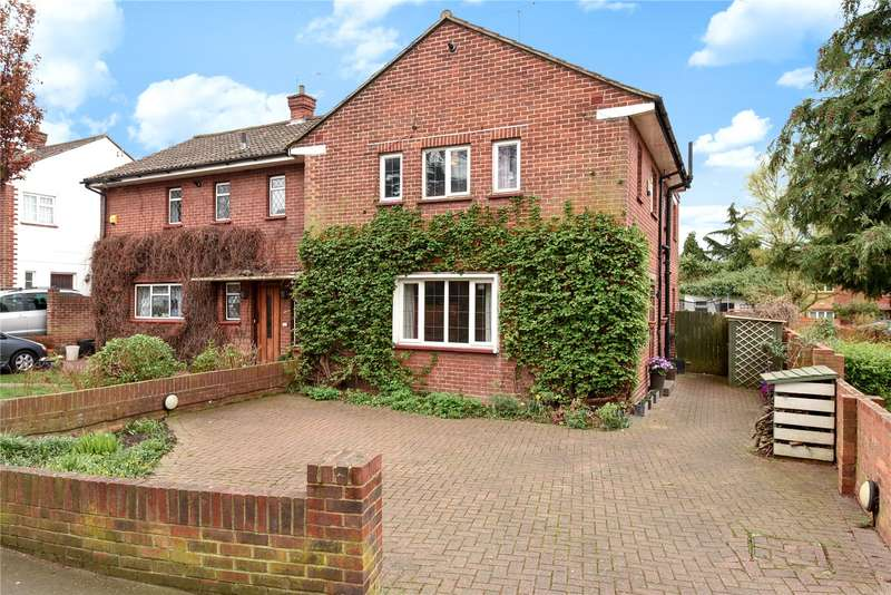 4 Bedrooms Semi Detached House for sale in Church Road, West Drayton, Middlesex, UB7