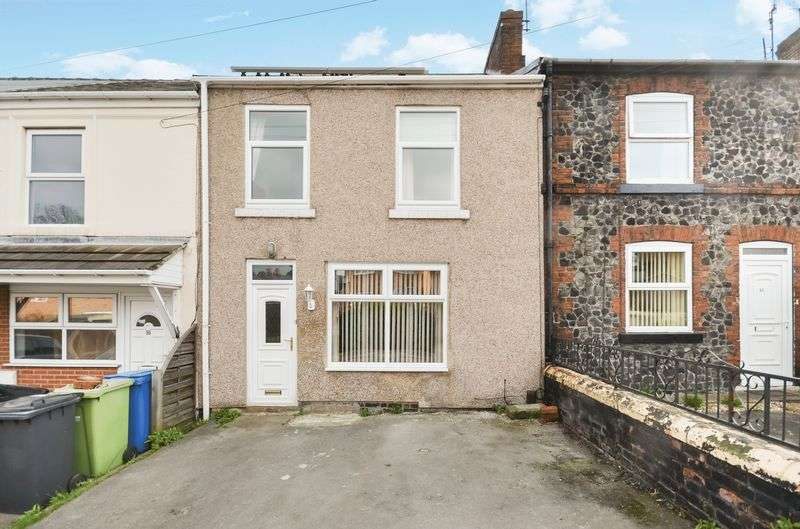 3 Bedrooms Terraced House for sale in 14 Victoria Street, Brimington, Chesterfield, S43 1HY