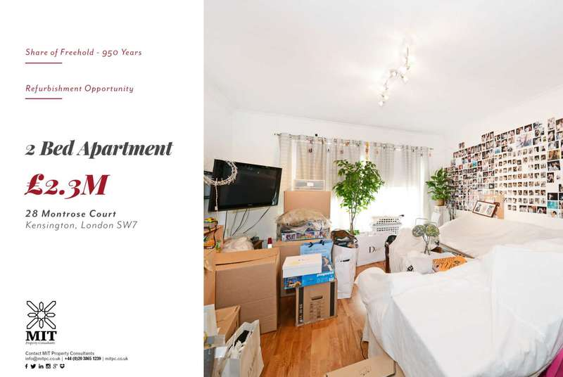 2 Bedrooms Apartment Flat for sale in Exhibition Road, South Kensington