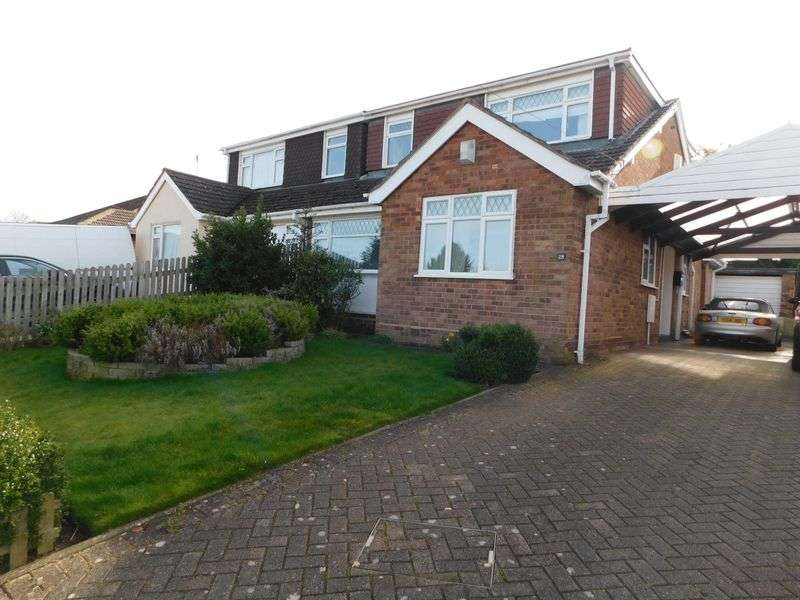 4 Bedrooms Semi Detached Bungalow for sale in Rockhouse Drive, Great Haywood, Stafford