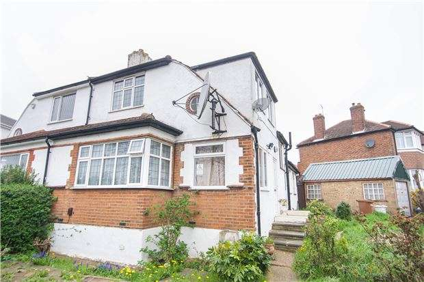 3 Bedrooms Semi Detached House for sale in Cotman Gardens, EDGWARE, Middlesex, HA8 5TE