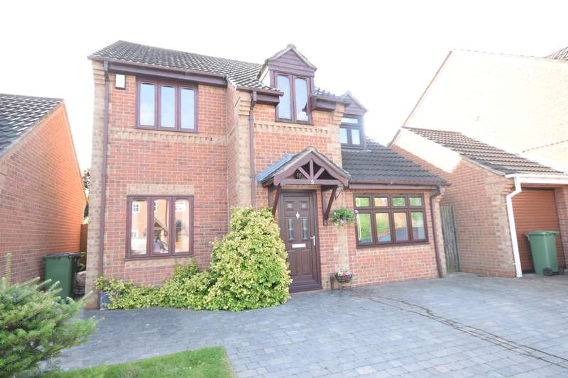 4 Bedrooms Detached House for sale in Stainmore Avenue, Narborough, Leicester, LE19 3YX