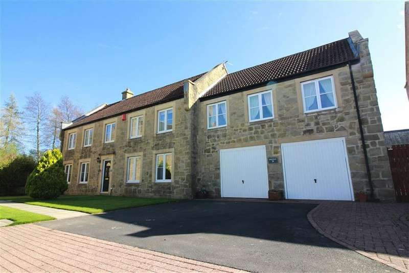 5 Bedrooms Detached House for sale in Green Close, Morpeth, NE61