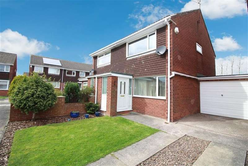 2 Bedrooms Semi Detached House for sale in Cosford Court, Newcastle Upon Tyne, NE3