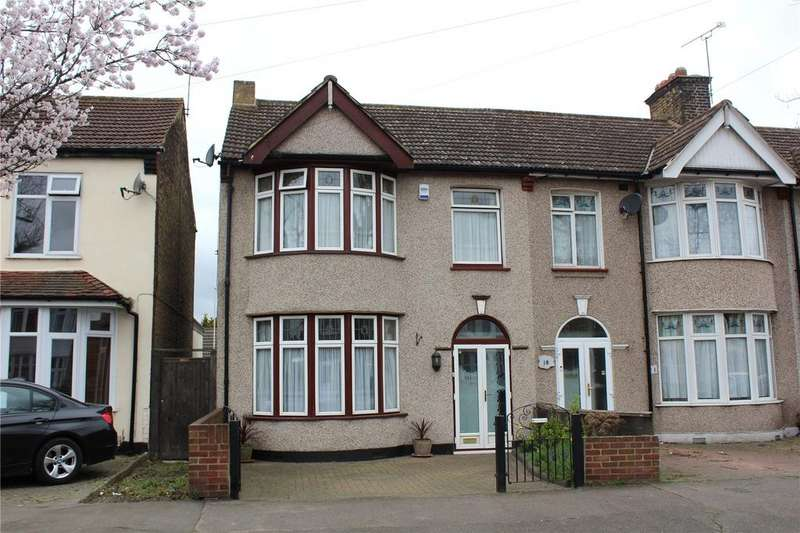 3 Bedrooms End Of Terrace House for sale in Brights Avenue, Rainham, RM13