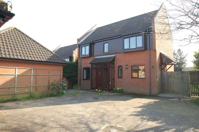 4 Bedrooms Detached House for sale in Manor Court, North Walsham