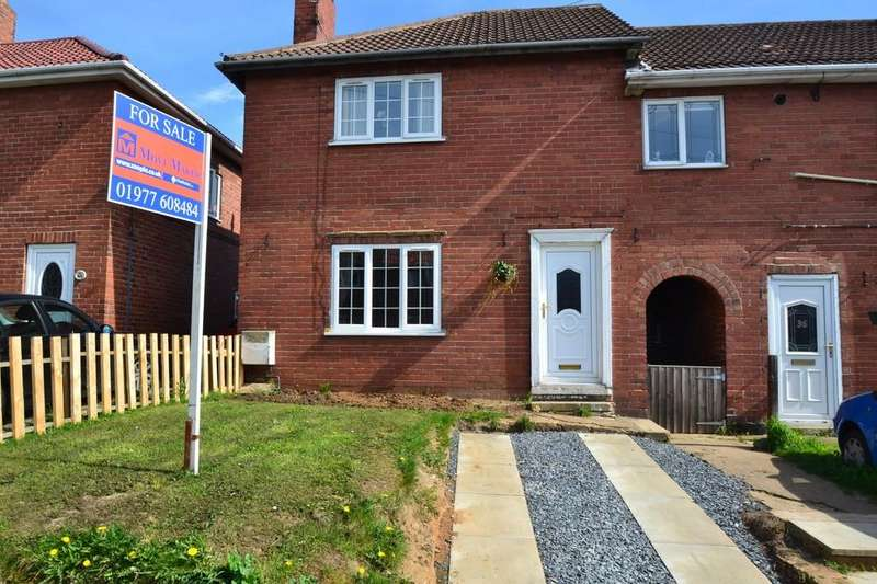 3 Bedrooms End Of Terrace House for sale in School Street, Upton, Pontefract