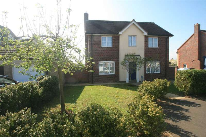 4 Bedrooms Detached House for sale in Sandmartin Crescent, Stanway, Colchester