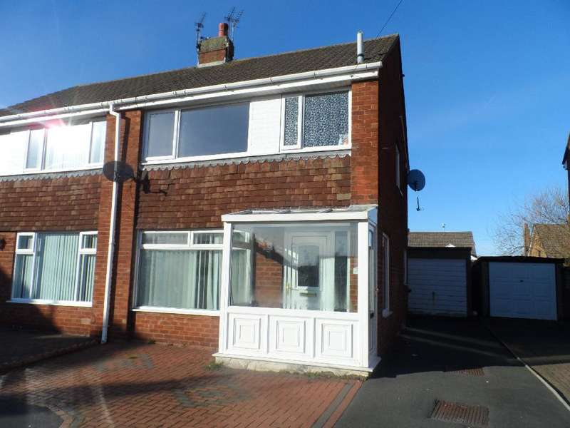 3 Bedrooms Semi Detached House for sale in Oldbury Place, Cleveleys, FY5 3DR