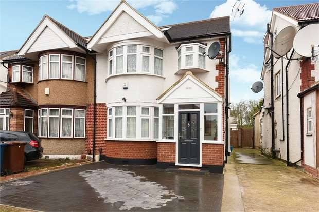 4 Bedrooms Semi Detached House for sale in Kenmore Avenue, Harrow, Middlesex