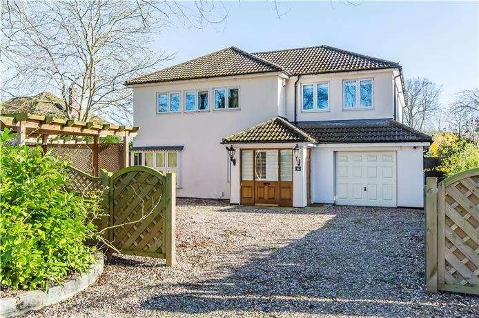 5 Bedrooms Detached House for sale in Coppice Avenue, Great Shelford, Cambridge