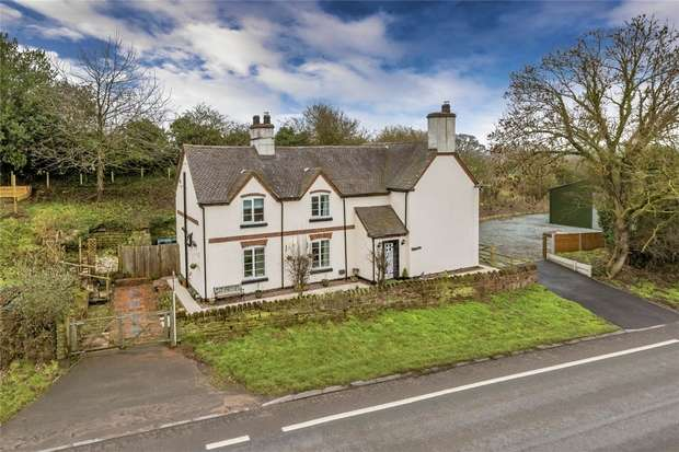 3 Bedrooms Detached House for sale in Warren Cottage, Tern Hill, Market Drayton, Shropshire