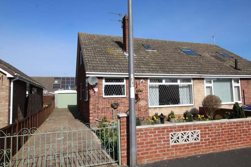 3 Bedrooms Semi Detached Bungalow for sale in Laburnum Walk, Gilberdyke, Brough, HU15