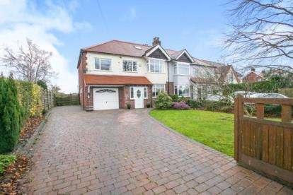 5 Bedrooms Semi Detached House for sale in Wilmslow Road, Mottram St Andrew, Cheshire